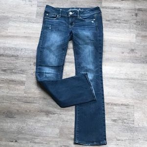 American Eagle Stretch Distressed Jeans Size 4